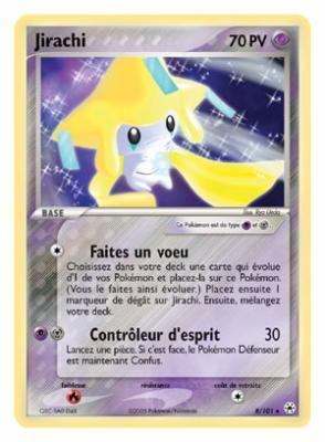 Carte jirachi pokemon forever - Carte pokemon jirachi ...